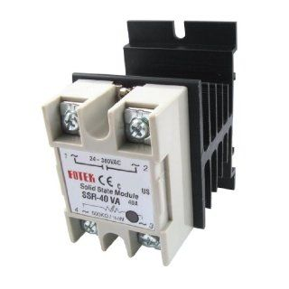 Replacement Voltage Resistance Solid State Relay SSR 40A AC 24 380V