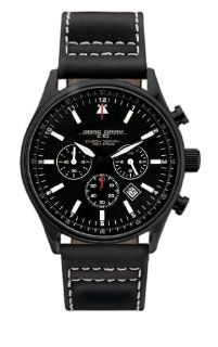 Jorg Gray Leather Chrono Black Dial Men's watch #JG6500 11 Jorg Gray Watches