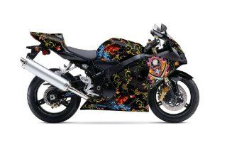 Ed Hardy AMR Racing Suzuki Gsxr 600/750 Sport Bike Graphic Kit Graphic Decal Automotive