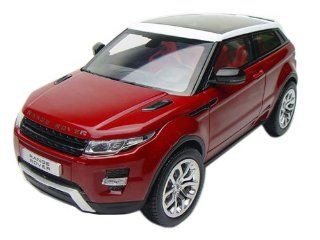Range Rover Evoque Red 1/18 by Welly 11003 Toys & Games