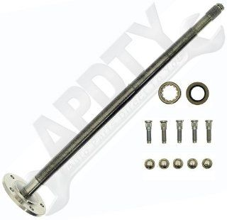 APDTY 741512 Rear Axle Shaft Assembly With Bearing; Seal; Wheel Studs & Nuts For 1994 2006 Dodge Ram 1500 Pickup Truck (Rear Left Or Right) Automotive