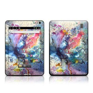 Cosmic Flower Design Protective Decal Skin Sticker for Velocity Micro Cruz T408 8 inch Tablet E Reader Computers & Accessories