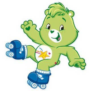 "Care Bears Oopsy bear vynil car sticker 4"" x 4"" Automotive"