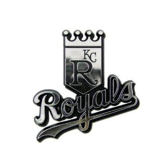 Kansas City Royals MLB Chrome 3D for Auto Car Truck Emblem Decal Sticker Baseball Officially Licensed Team Logo  Sports Fan Automotive Decals  Sports & Outdoors
