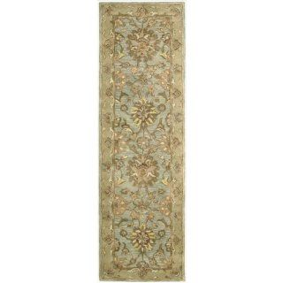 Shop Nourison JA19 Jaipur Rectangle Hand Tufted Area Rug, 2.4 by 8 Feet, Aqua at the  Home D�cor Store. Find the latest styles with the lowest prices from Nourison