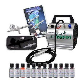 Airbrush Depot KIT CAKE 60 BAKERY AIRBRUSH CAKE KIT WITH ABD / MASTER