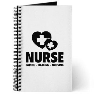 Nurse   Caring Healing Nursing Journal   Standard Task Journal  Composition Notebooks