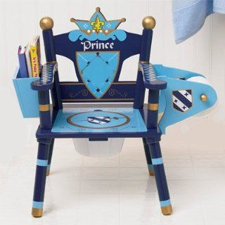 Prince Throne Toilet Potty Training Seat King Chair New  Baby