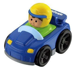 Fisher Price Little People Wheelies Vehicle SPORTS CAR Toys & Games