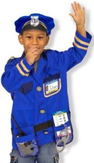 Police Officer Kids Costume Clothing