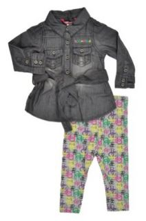 "Rocawear ""Grey Heather"" Infant Girls 2 Piece Set (12M) Infant And Toddler Pants Clothing Sets Clothing"