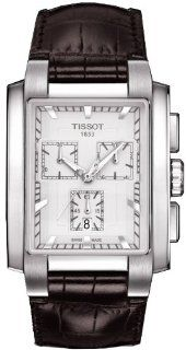 Tissot T0617171603100 Watch T Trend TXT Mens   White Dial Stainless Steel Case Quartz Movement Watches
