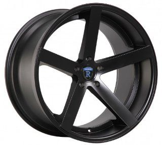 "20"" Rohana Wheel Rc22 20x9 20x10 Dodge Challenger Charger Magnum Chrysler 300c 300 Rims Matte Black 5x115 Automotive"