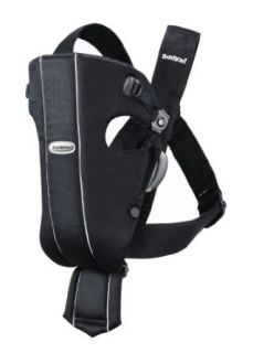 BABYBJORN Baby Carrier Original, Black, Cotton  Child Carrier Front Packs  Baby