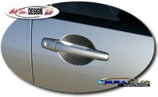 Mitsubishi Lancer & Evolution VIII / IX Simulated Carbon Fiber Door Handle Decal Kit 1 Automotive
