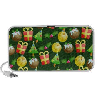 Christmas Wallpaper Notebook Speakers