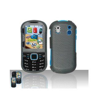 Black Carbon Fiber Hard Cover Case for Samsung Intensity II 2 SCH U460 Cell Phones & Accessories