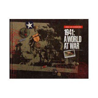 World War II Remembered; 1941 A World at War United States Postal Service Books