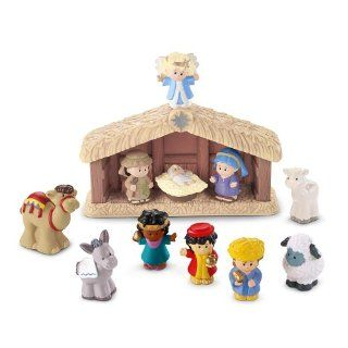 Fisher Price Little People Nativity Playset Toys & Games