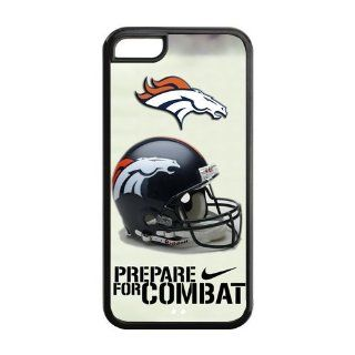Custom NFL Denver Broncos Inspired Design TPU Case Back Cover For Iphone 5c iphone5c NY475 Cell Phones & Accessories