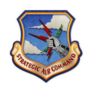 Strategic Air Command Allied Military Custom Metal Shape Sign   Decorative Signs
