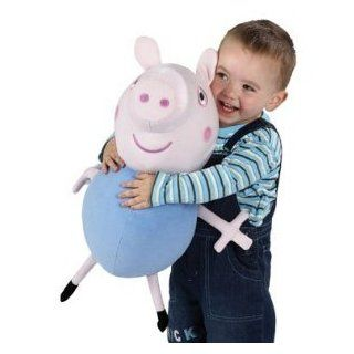 "16"" Peppa Pig George Large Plush Talking Cuddly Soft Huggable Doll Toy Toys & Games"