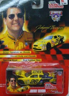 Johnny Benson   Racing Champions   1998   NASCAR 50th Anniversary   No. 26 Pop Secret Ford Taurus   164 Scale Die Cast Replica Collector Car Toys & Games
