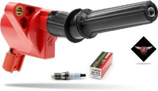Tune Up SetTM Set of 1 High Performance Ignition coil DG 508 & 1 Motorcraft spark plug SP479 Automotive