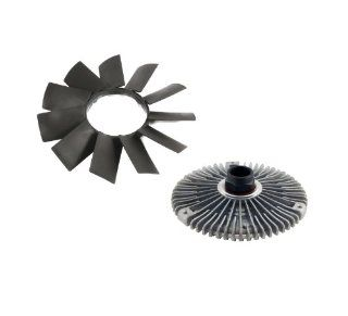 BMW Engine Radiator Cooling Fan Blade and Fan Clutch Kit  E32 E34 E39 E36 E46 Z3 E53  11 52 1 712 058  11 52 7 505 302 Automotive