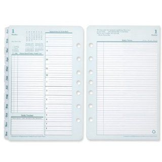 FranklinCovey Original Dated Daily Planner Refill, April   March, 2011 2012, 5 1/2 x 8  1/2 Inches (3542011)  Personal Organizers