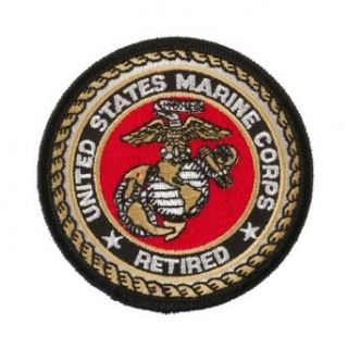 Assorted Marine Corps Logo Patches   US Marine Retired OSFM Clothing