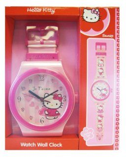 Sanrio Hello Kitty Large Wall Clock 36 inches Tall Toys & Games