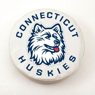 Connecticut Huskies Spare Tire Cover  Sports Fan Tire And Wheel Covers  Sports & Outdoors