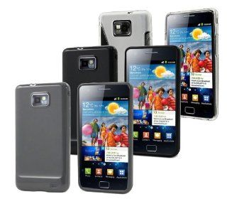 Importer520 3in1 Combo Flexible TPU Cover Case For AT&T Samsung Galaxy S2(i777,i9100) Cell Phones & Accessories