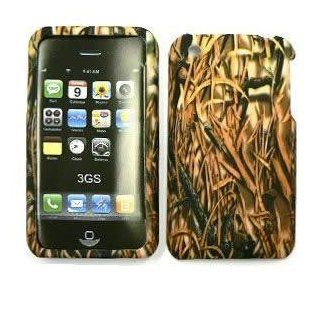 APPLE IPHONE 3G 3GS Shedder Grass CAMO CAMOUFLAGE HUNTER HARD PROTECTOR COVER CASE / SNAP ON PERFECT FIT CASE Cell Phones & Accessories
