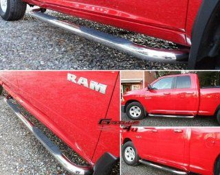 Fits 2009 2014 Dodge Ram 1500 Quad Cab S/S Side Step Nerf Bars Automotive
