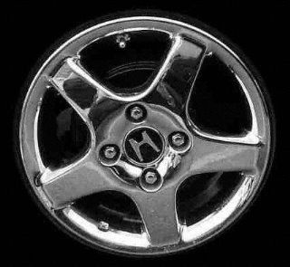98 02 HONDA ACCORD SEDAN ALLOY WHEEL RIM 15 INCH, Diameter 15, Width 6 (5 THICK SPOKES, 4CYL, 4 LUG), MACHINED FACE, 1 Piece Only, Remanufactured (1998 98 1999 99 2000 00 2001 01 2002 02) ALY63785U10 Automotive