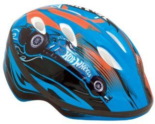Bell Toddler's Hot Wheels Trail Blazer Bike Helmet  Toddler Boys Bike Helmet  Sports & Outdoors