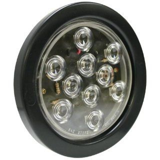 "Blazer C543CR 4"" Round LED Stop/Turn/Tail Light with Clear Lens Automotive"