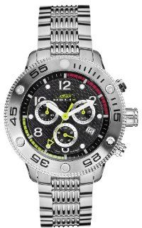 Helix Hx550 03l26b Men's Stainless Steel Okto Chrono Watch Watches