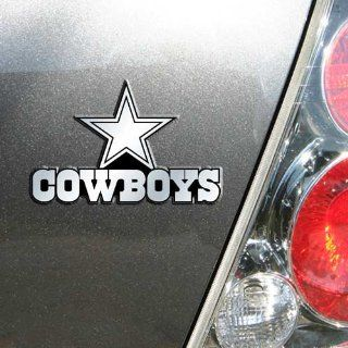 Dallas Cowboys NFL Football Car Chrome 3D Trunk Emblem Automotive