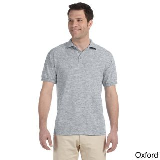 Jerzees Mens Heavyweight Blend Jersey Polo Shirt Grey Size XXL