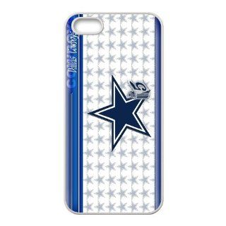 popularshow iphone 5 5s (TPU) Case NFL Dallas Cowboys logo Hard case Cases for Apple Iphone 5S Case Cell Phones & Accessories