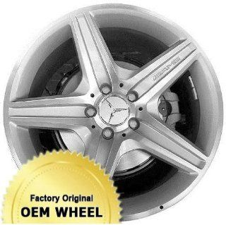 MERCEDES CLS550,CLS CLASS 18X8.5 5 SPOKE Factory Oem Wheel Rim  SILVER   Remanufactured Automotive