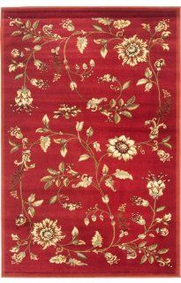 Safavieh Lyndhurst Collection LNH552 4091 Red Area Rug, 8 Feet 9 Inch by 12 Feet