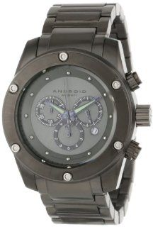 Android Men's AD556BKK Antigravity Chronograph Black Dial Bracelet Watch Watches