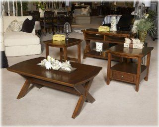 Shop Burkesville 3 pc Coffee Table Set T556 S at the  Furniture Store. Find the latest styles with the lowest prices from Signature Design