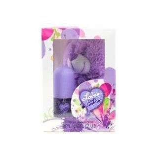 LOVE'S BABY SOFT Soft Jasmine Scent Cologne Mist & Teddy Bear GIFT in Box  Eau De Toilettes  Beauty