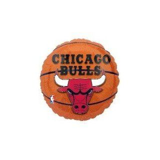 "Single Source Party Supplies   18"" NBA Chicago Bulls Basketball Mylar Foil Balloon Toys & Games"