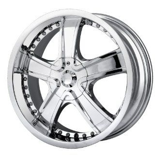 "Veloche Velvet 565 Chrome Wheel (20x8.5""/10x112mm) Automotive"